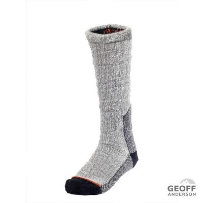 GEOFF ANDERSON BootWarmer Socken   hoch hellgrau
